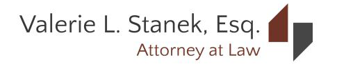 Valerie L. Stanek, Attorney at Law